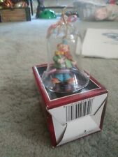 Vintage Hand painted Porcelain Ring in the Clowns Bell