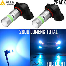 Alla Lighting 9006 72-LED Cool Ice Blue Driving Fog Light Bulb Replacement 8000K