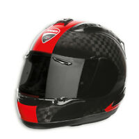 DUCATI Arai CORSE CARBON RX-7 RC Helm Helmet - LIMITED schwarz rot NEU