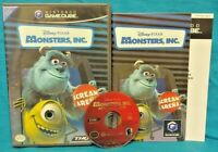 Monsters Inc. Disney Pixar - Nintendo GameCube Game Working 1-4 Players 1 Owner