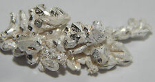 2.81 Grams of .999 crystalline silver crystal nugget 99.999% pure