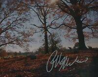 Ralph Macchio Bowing At Mr. Miyagi's Grave Signed 8x10 Photo RARE