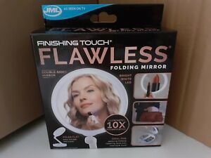 JML FINISHING TOUCH FLAWLESS FOLDING MIRROR - BRAND NEW & BOXED - FACTORY SEALED
