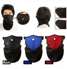Winter Ski Half Face Mask Motorcycle Thermal Fleece Balaclava Neck Cover Hat Cap