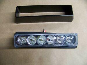 Code 3  OPTIX  model: OPXB6-AW exterior warning LED light