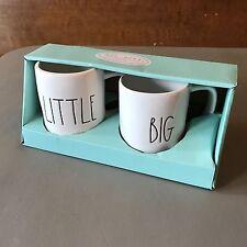 Rae Dunn Coffee Mugs - Iittle & Big (set of 2) Sorority Siblings