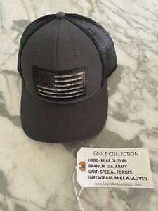 New Eagles & Angels Hat - Mike Glover