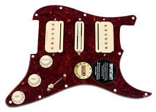 920D Custom Duncan P-Rails/Vintage Rail HSH Loaded Pickguard w/ 7-Way, TO/AW