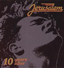 JERUSALEM- 10 YEARS AFTER: VOL 1 & VOL 2 (*Used-CD, 1988, Refuge)Christian Metal