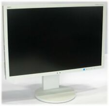 "24"" TFT LCD NEC MultiSync EA244WMi IPS 1920x1200 Pivot Monitor teilweise vergilb"