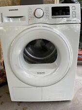 samsung heat pump tumble dryer 8 Kg Dv80m5010 1w Barely Used