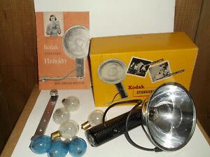 Kodak Standard Flashholder with Original Box Bracket Bulbs Manual Cover Mint