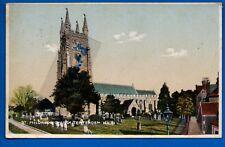 1924 POSTCARD ST MILDREDS CHURCH TENTERDEN KENT NR ASHFORD CRANBROOK HAMSTREET
