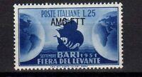 Trieste A 1951 Messe Levante Bari MNH (190)