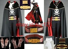Albator Galaxy Express 999 Cosplay Costume Custom