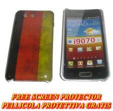 Pellicola+custodia BACK COVER rigida GERMANIA per Samsung I9070 Galaxy s Advance