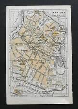Antica Stampa=Topografia=MANTOVA =Scala1:15000 -1909c.