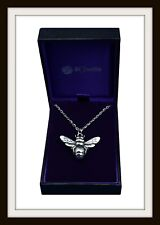 PEWTER BEE PENDANT - FROM ST JUSTIN ~ MADE IN UK ~ FAST & FREE P&P