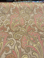 Waverly Tamsin Harvest Srd Paisley Jacquard Fabric By The Yard