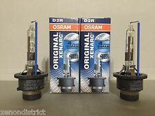 NEW 2PC OEM OSRAM XENARC D2R 66250 66050 ORIGINAL 5000K HID XENON LIGHT BULBS