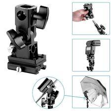 Flash Hot-Shoe Slave Umbrella Holder Light Bracket B for 430EX 580ex YN560 III