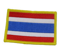 Thailand Country Flag Wholesale lot of 3 Iron On Patch