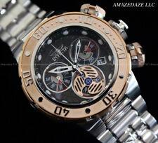 NEW Invicta Men 52mm Sub Aqua SEA DRAGON Swiss Ronda Z60 Chronograph SS Watch !!