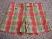 Women's JONES NEW YORK SPORT petite plaid shorts, 10p  10