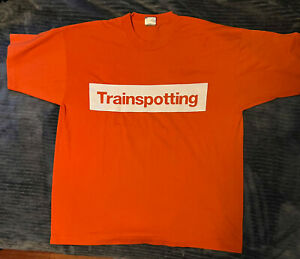 TRAINSPOTTING Choose Life Vintage Promo T-Shirt - XL - Immacualte Condition