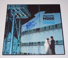 DEPECHE MODE MARTIN GORE SIGNED 'SOME GREAT REWARD' VINYL RECORD w/COA GUITARIST