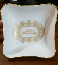 Golden Anniversary 50th House of Goebel Bavaria W Germany by Audrey Walters Bowl