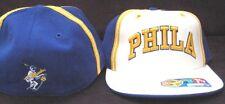 PHILA WARRIORS HAT NEW 7 1/8 CAP D'FUNKD FITTED 76ERS PHILADELPHIA GOLDEN STATE