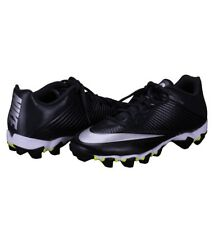 Nike Air Vpr Fastflex Low Football Cleats Gray Black Size 12 Men's 833391-002