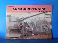 German Armored Trains In World War II by Wolfgang Sawodny Schiffer Military V17