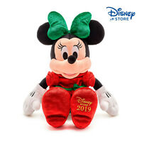Disney • Topolina Minni Mouse Holiday Cheer Minnie 2019 43CM PELUCHE PLUSH NUOVO
