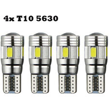 4 X T10 501 194 W5W 6SMD 5630 LED Car HID CANBUS Error Free Wedge Lights Bulb