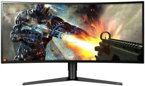 "LG Ultra Gear Curved Gaming Monitor 34"" 34GK950F QHD 3440x1440p LED 144Hz HDMI"
