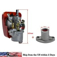 Carburetor + 13mm Big Bore Fuel Inlet for 49cc 60cc 80cc Engine Motorized Bike