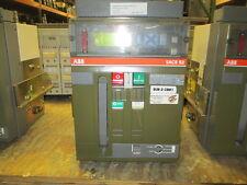 ABB SACE E2N-A 16 600V MO/DO Breaker w/ PR113/P-A w/ LSIG Used EOk