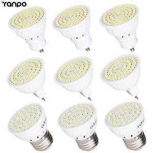 LED Spotlight Bulb GU10 E27 MR16 3W 5W 7W 2835 SMD White Lamp 110V 220V 12V 24V