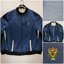 Victoria Golf Club 1893 Mens Large Jacket Full Zip Sunice Blue