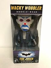 Batman The Dark Knight The Joker Bank Robber Bobblehead Funko Wacky Wobbler