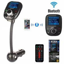 Bluetooth FM Transmitter Auto MP3 Player USB Stick KFZ SD AUX Freisprechanlage%@