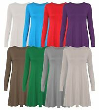 Long Sleeve Crew Neck Maxi Dresses Plus Size for Women