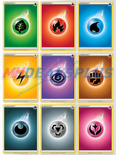 90 Basic Energy Cards | Battle Styles Pokemon TCG - 10 of EACH TYPE