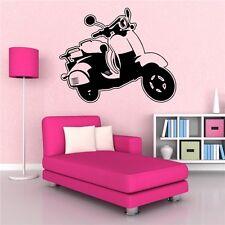vespa piaggio Roller mods Italian Wandtattoo Wallpaper Wand Schmuck 57 x 46 cm