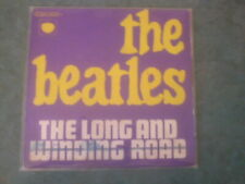 7 inch Single THE LONG AND WINDING ROAD  von THE BEATLES (Franz.Pressung)  °38