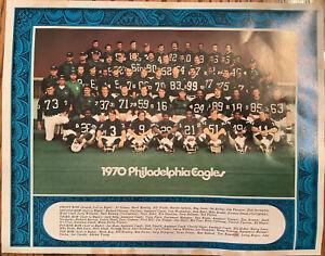 1970 Philadephia Eagles Team Photo - 1958-1970 Franklin Field Photo