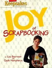 Keepsakes Joy of Scrapbooking Big Edition Craft Book Bearnson & Humphreys