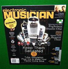 TUBE AMP SIMULATION, Joe Zawinal Keyboard Solo 2017 Electronic Musician Magazine